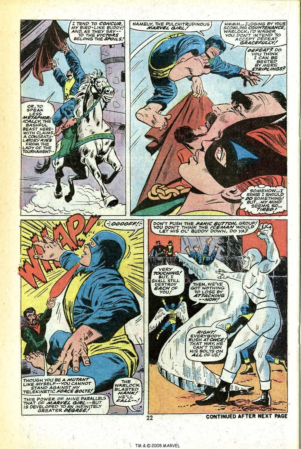 Read online Uncanny X-Men (1963) comic -  Issue #78 - 24