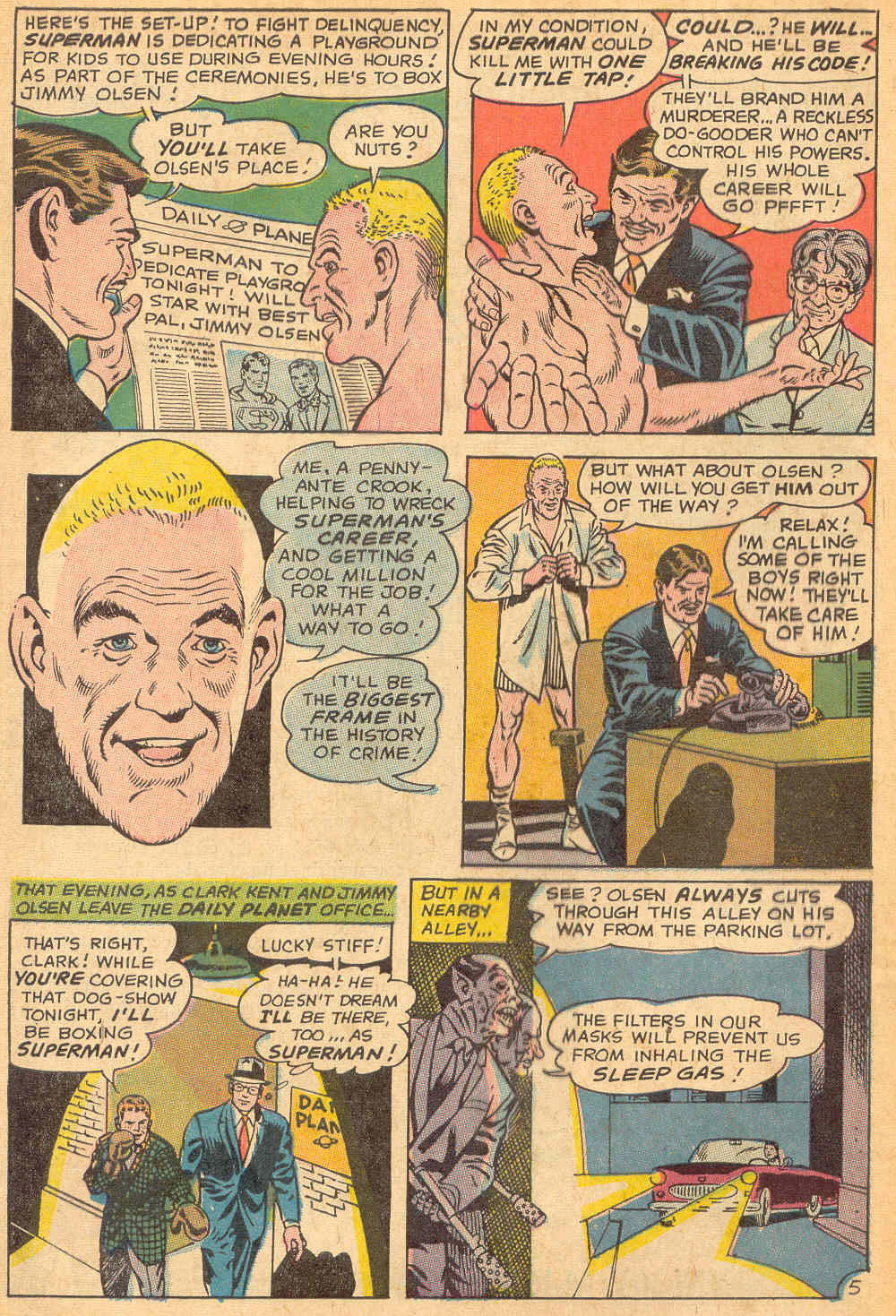 Read online Action Comics (1938) comic -  Issue #358 - 8