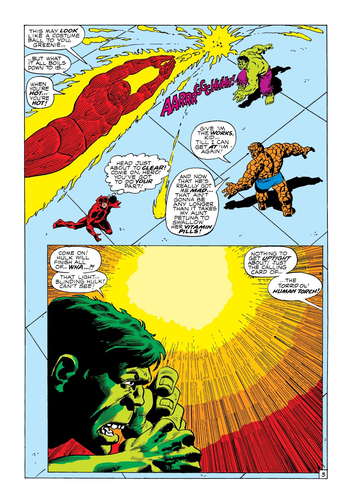 Read online Marvel Masterworks: The Incredible Hulk comic -  Issue # TPB 8 (Part 3) - 1
