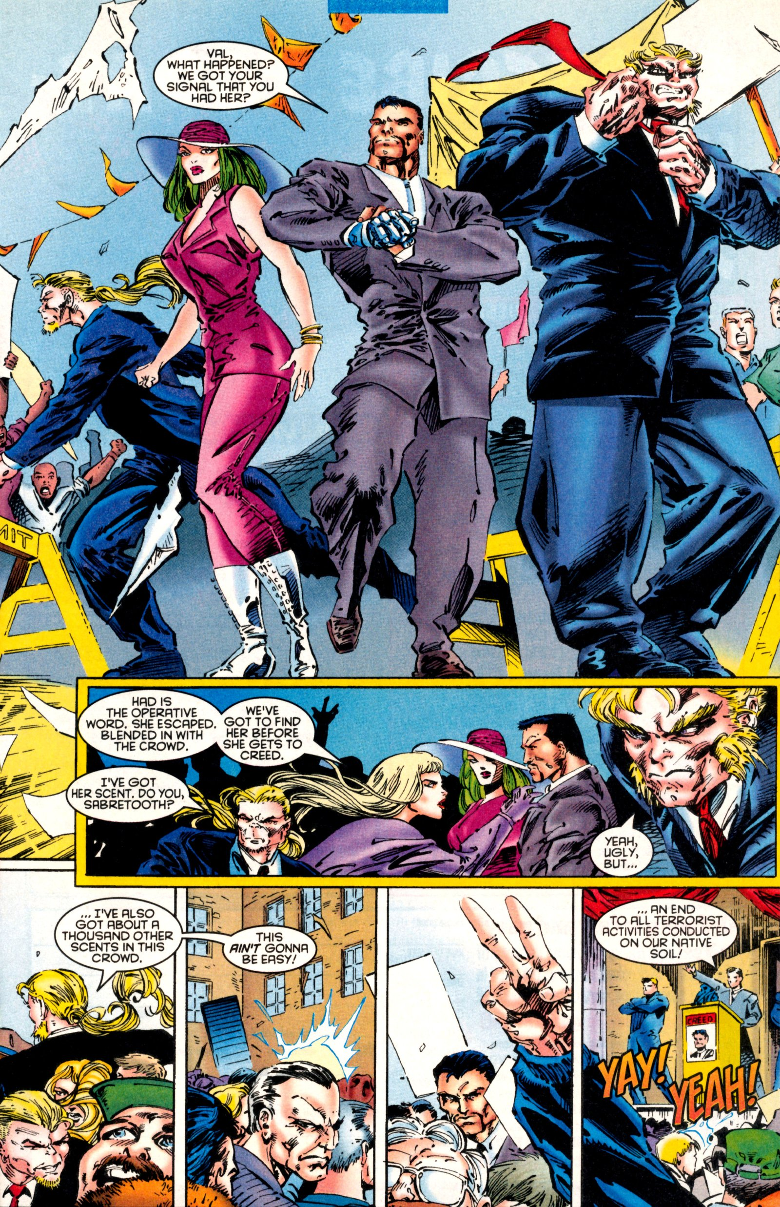 Read online X-Factor (1986) comic -  Issue #130 - 16