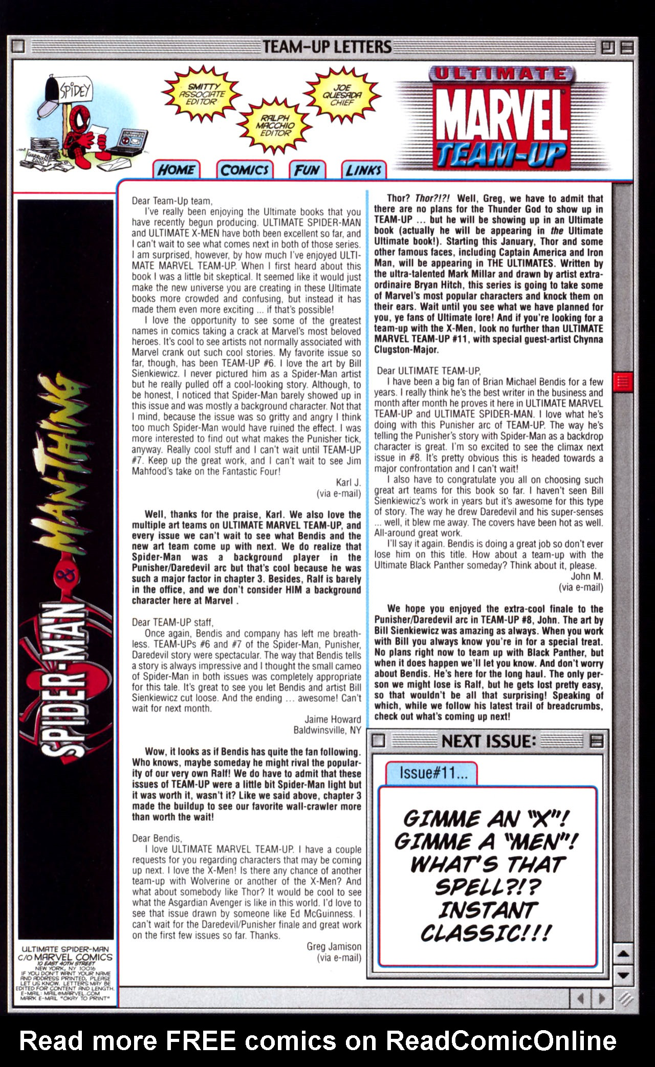 Read online Ultimate Marvel Team-Up comic -  Issue #10 - 33