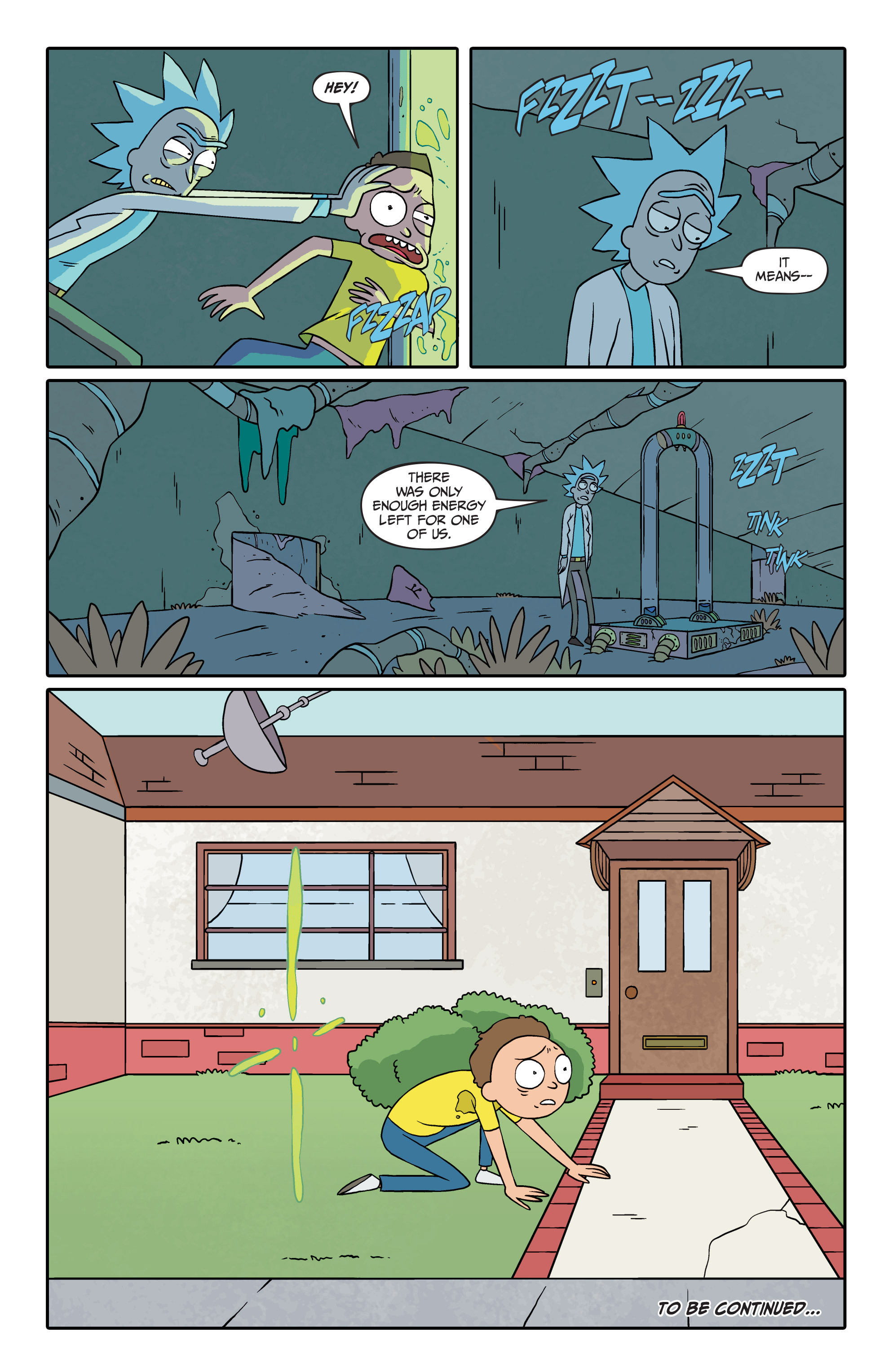 Rick And Morty Issue 2 Comic - Kahoonica-x