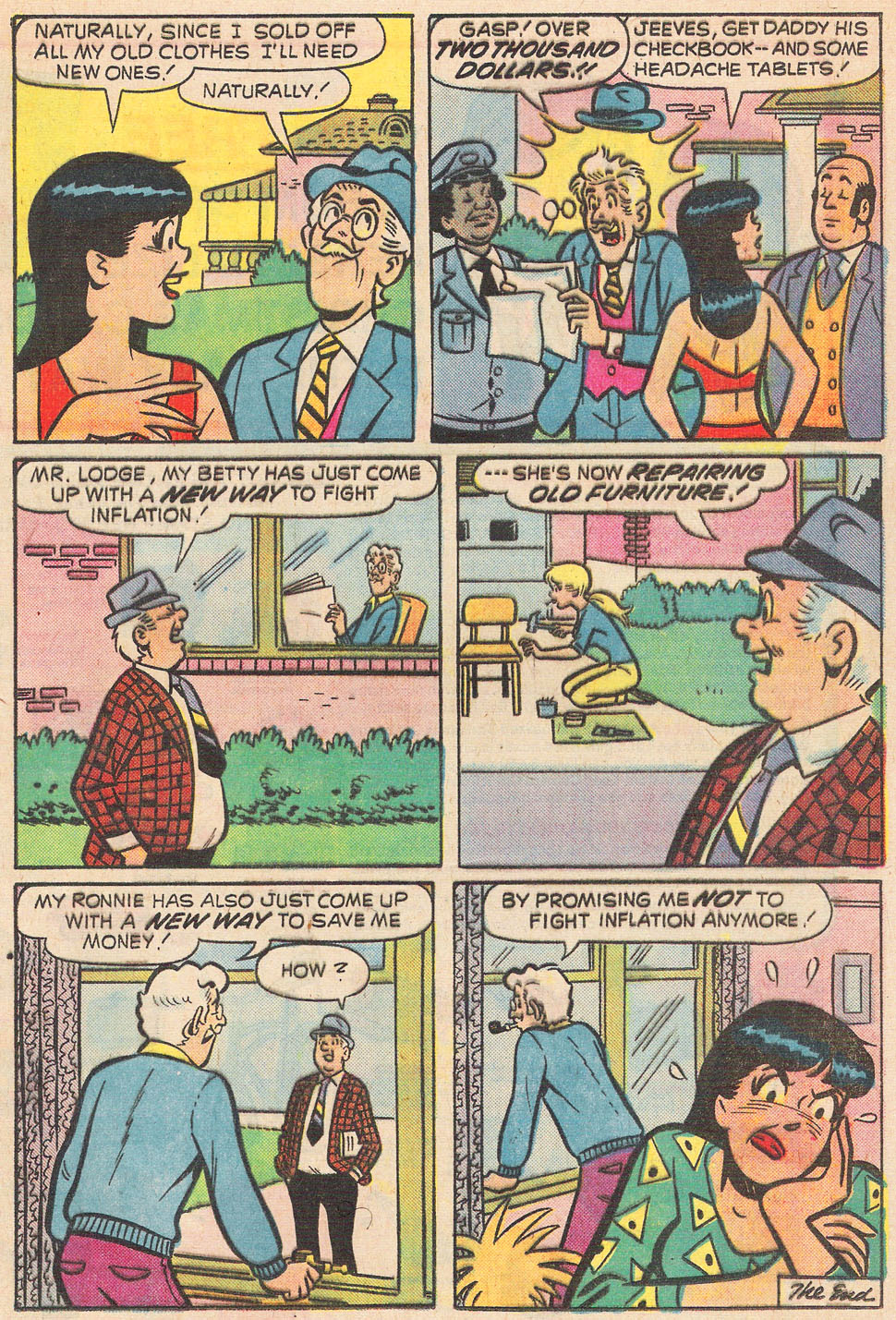 Read online Archie's Girls Betty and Veronica comic -  Issue #237 - 17