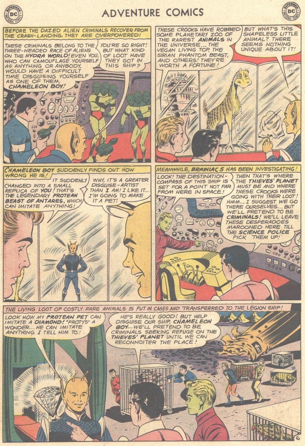 Read online Adventure Comics (1938) comic -  Issue #308 - 23