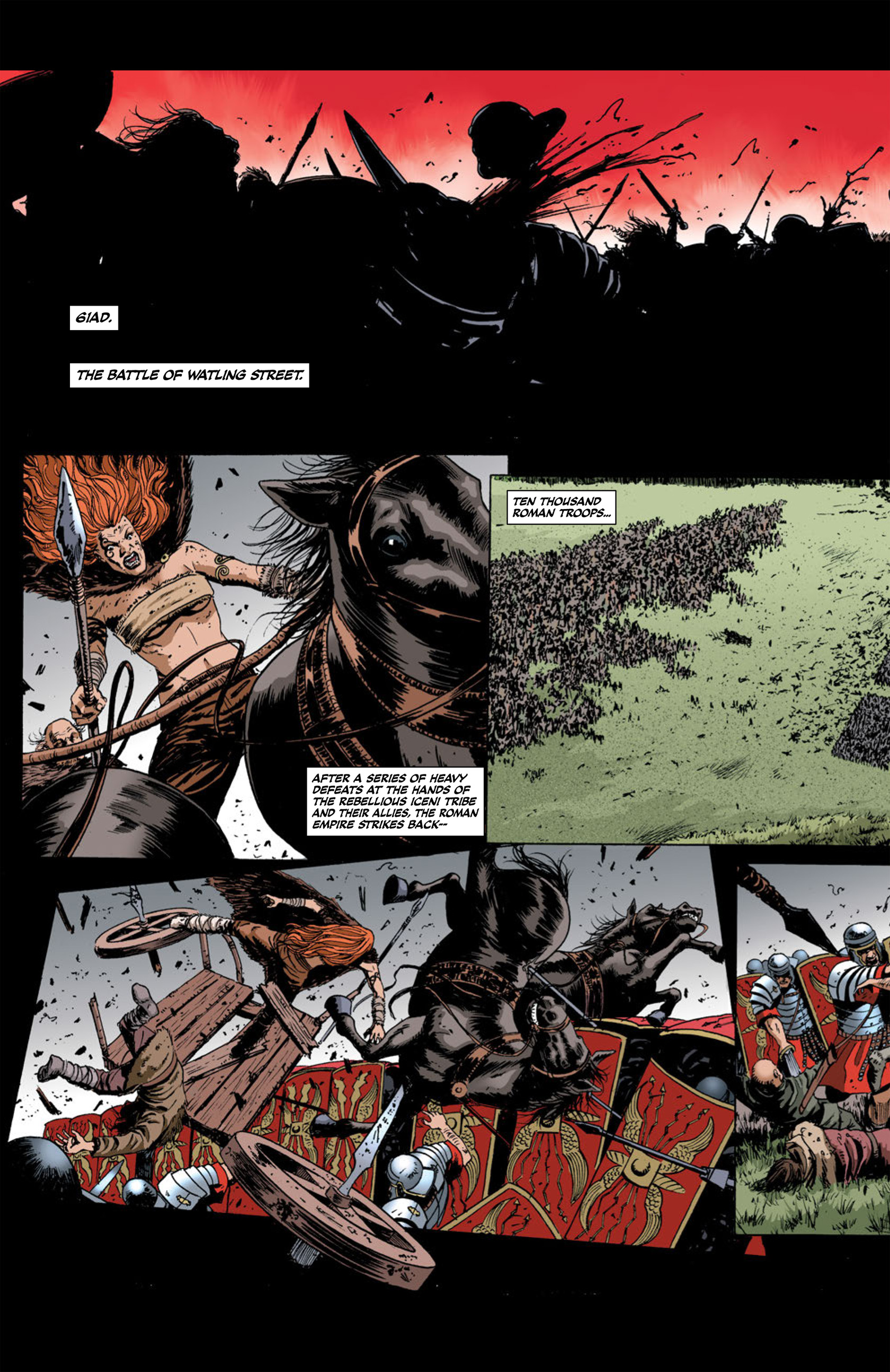 Read online Aquila comic -  Issue #2 - 18