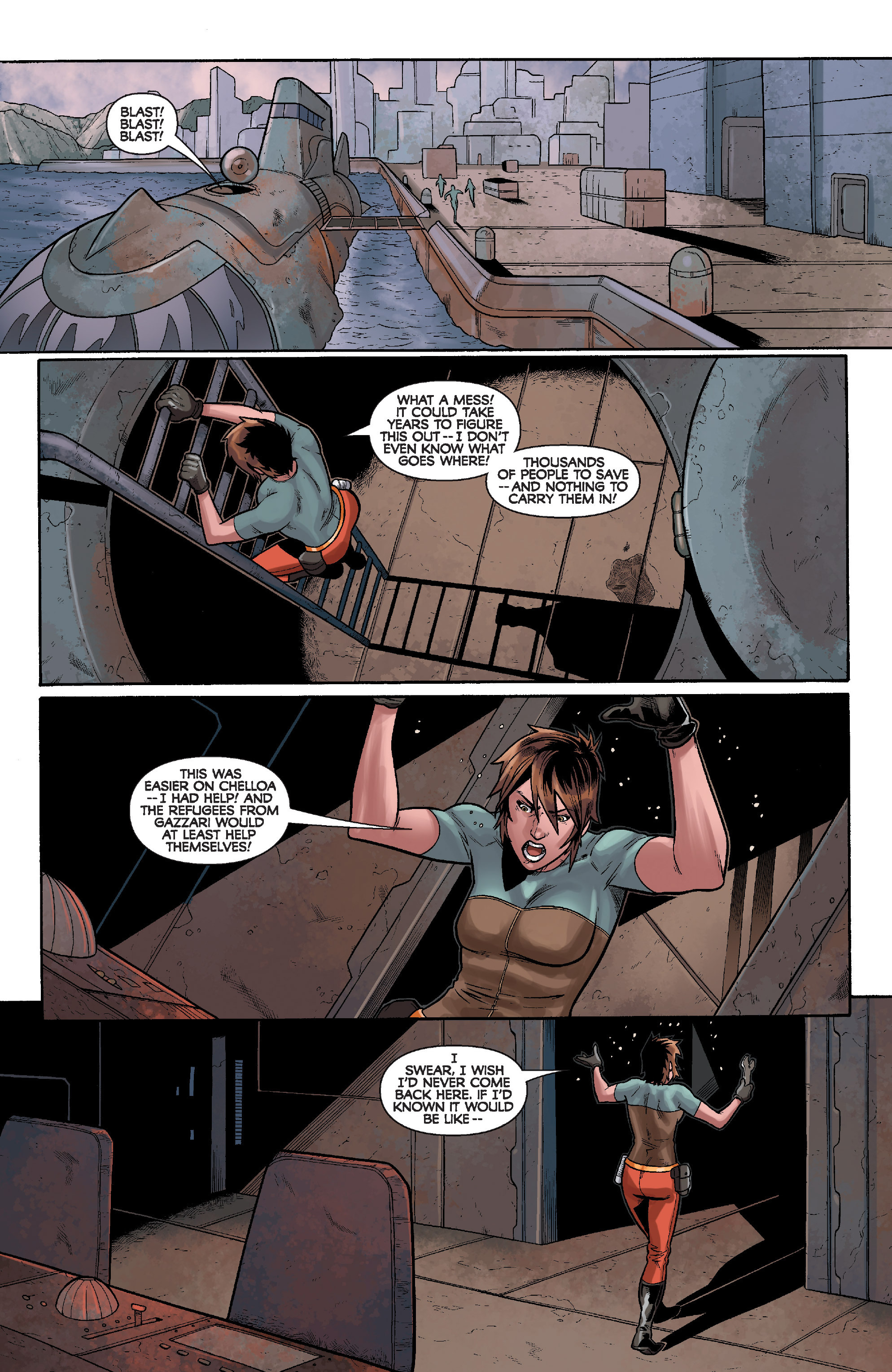 Read online Star Wars: Knight Errant - Deluge comic -  Issue #3 - 13