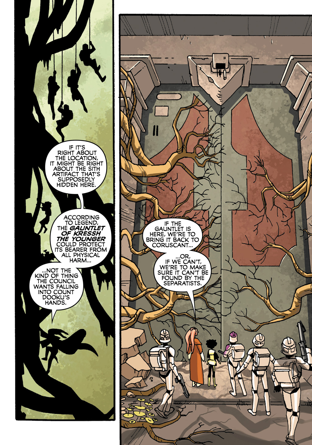 Read online Star Wars: The Clone Wars - Defenders of the Lost Temple comic -  Issue # Full - 8