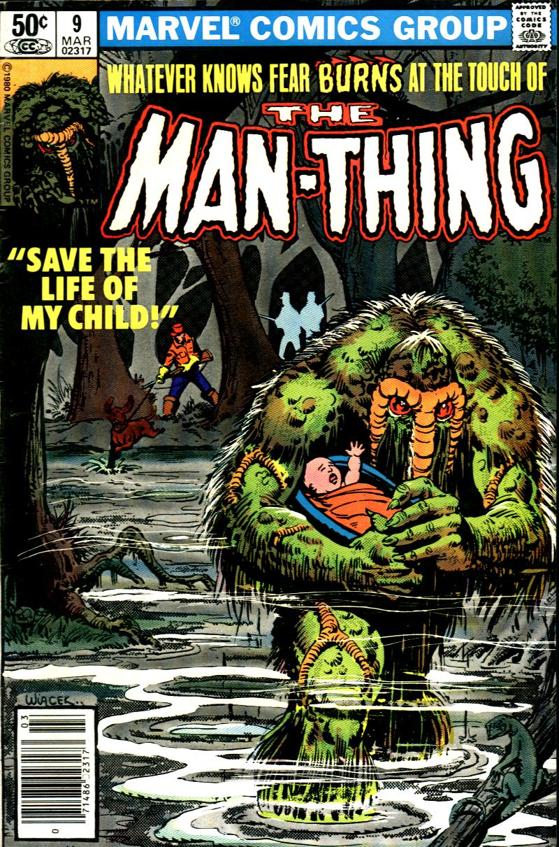 Man-Thing (1979) issue 9 - Page 1