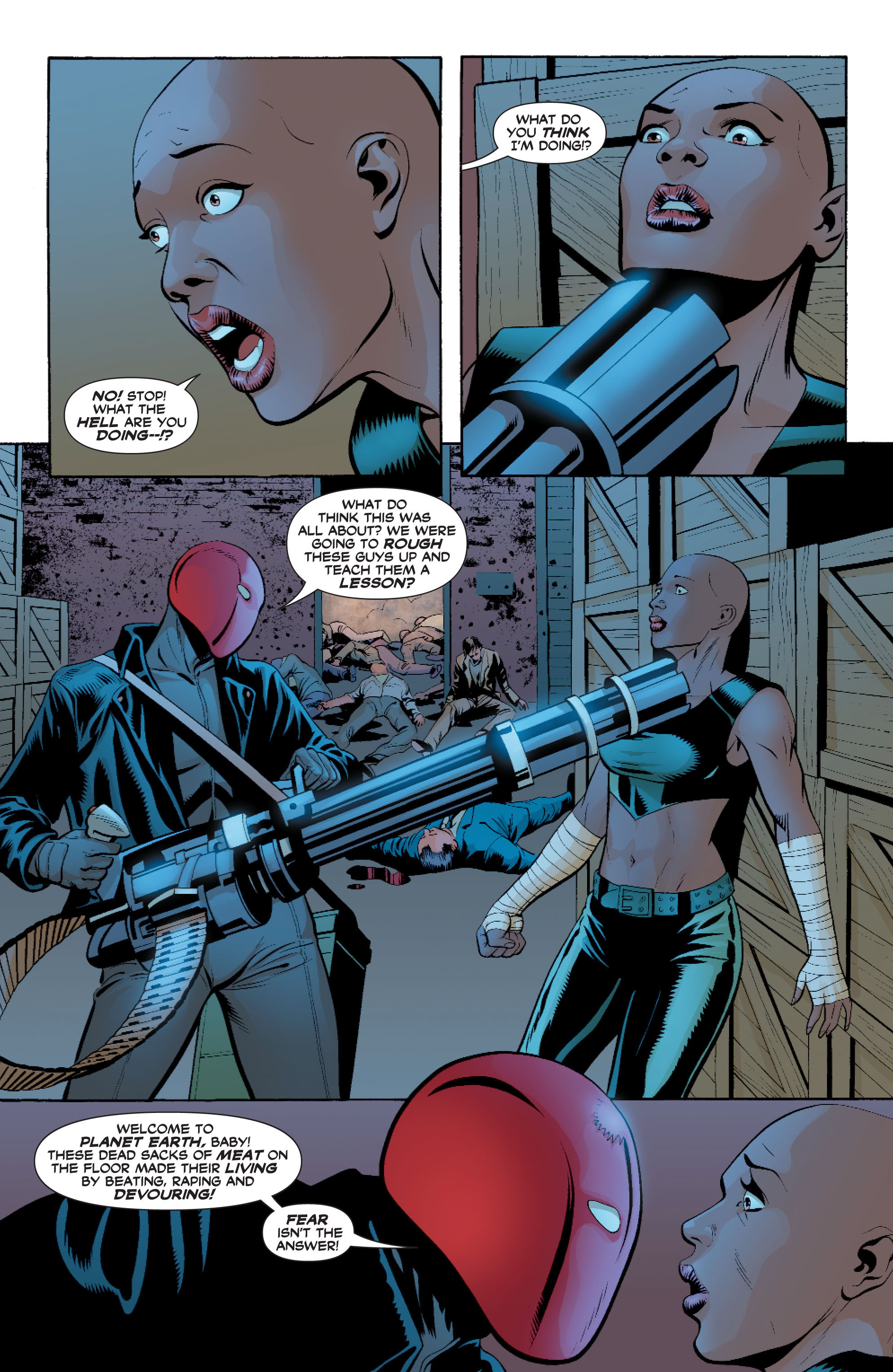 Read online Batman: Under The Red Hood comic -  Issue # Full - 148