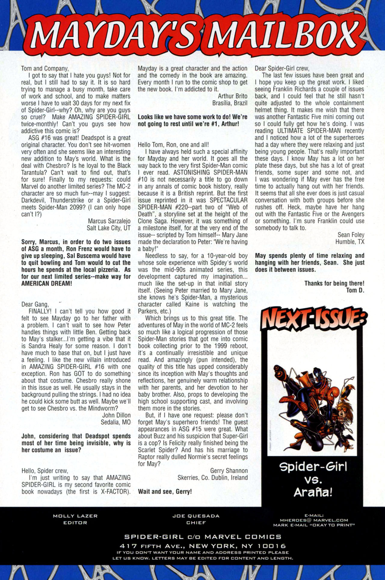 Read online Amazing Spider-Girl comic -  Issue #18 - 24