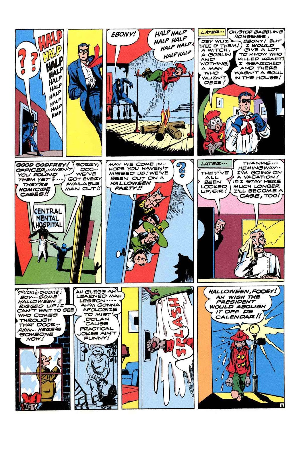 Read online Will Eisner's The Spirit Archives comic -  Issue # TPB 3 (Part 2) - 37