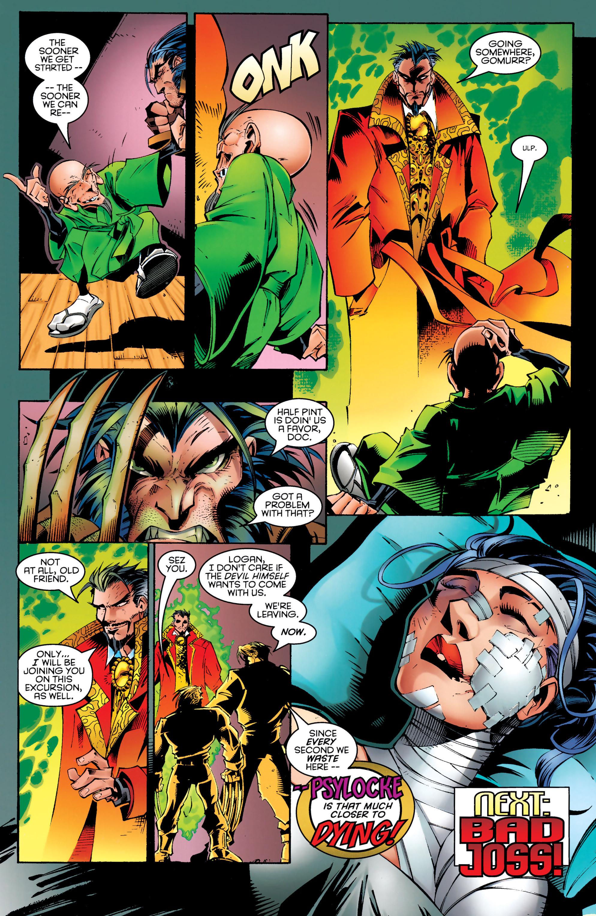 Read online Uncanny X-Men (1963) comic -  Issue #329 - 19