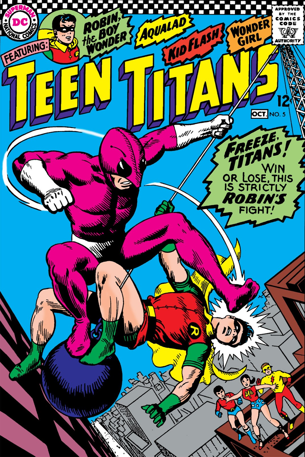 Teen Titans (1966) issue 5 - Page 1