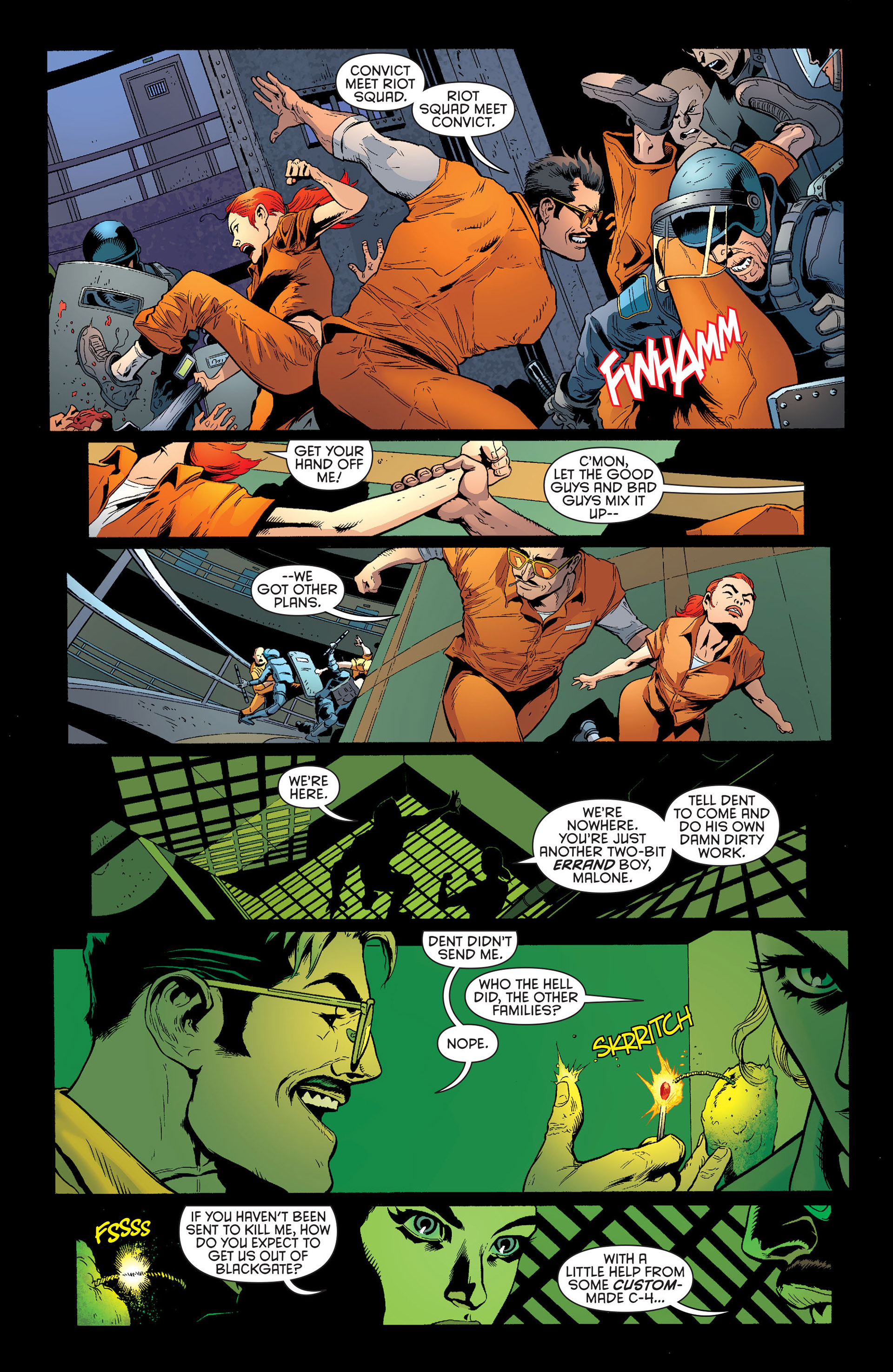Read online Batman and Robin (2011) comic -  Issue #25 - Batman and Two-Face - 19