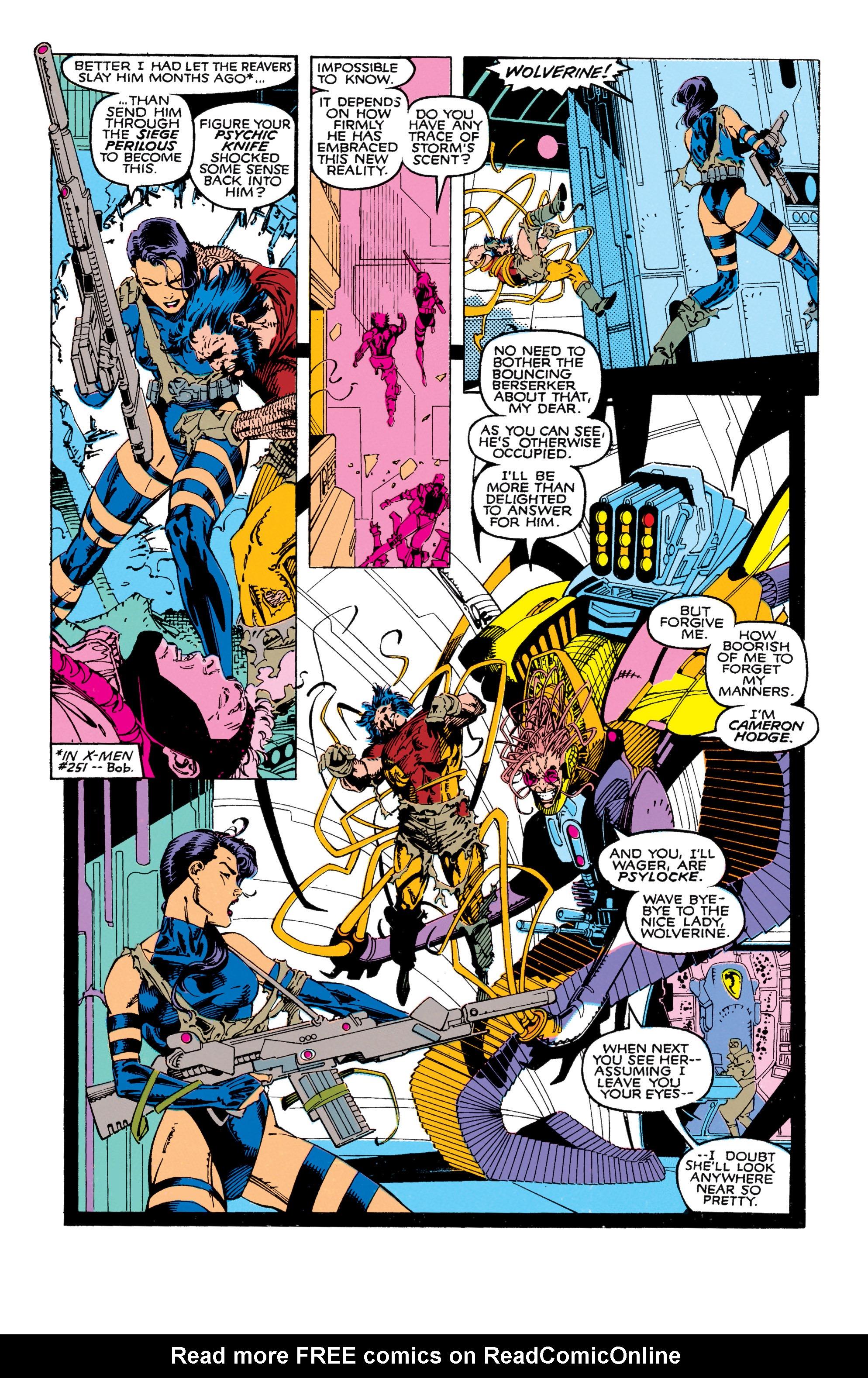 Read online Uncanny X-Men (1963) comic -  Issue #271 - 20