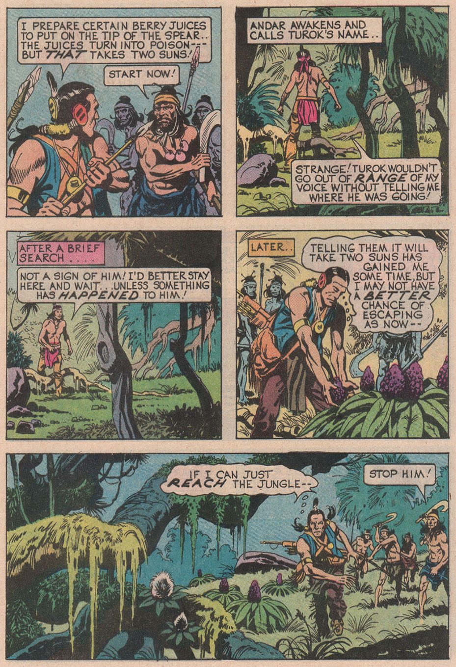 Read online Turok, Son of Stone comic -  Issue #113 - 9