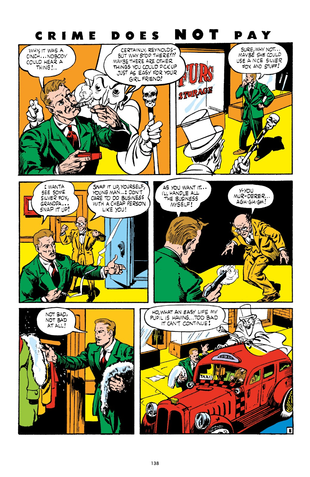 Read online Crime Does Not Pay Archives comic -  Issue # TPB 3 (Part 2) - 38