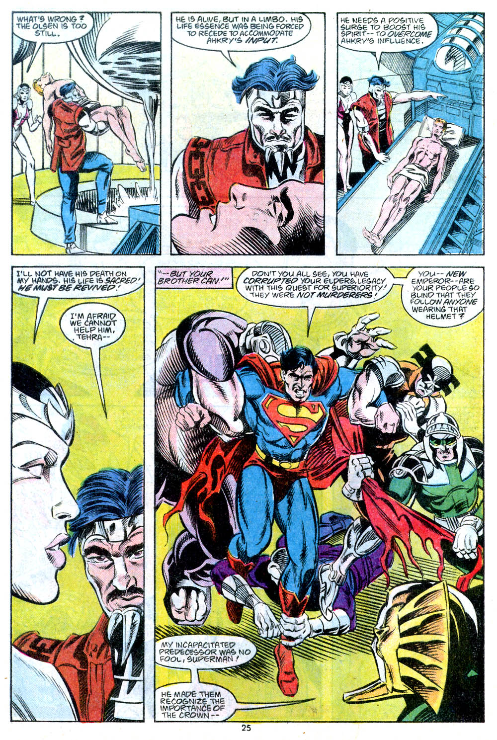 Read online Adventures of Superman (1987) comic -  Issue #443 - 27