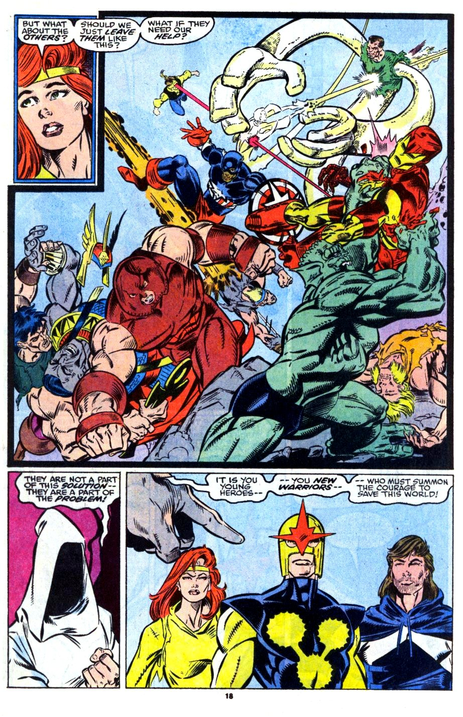 The New Warriors Issue #13 #17 - English 15