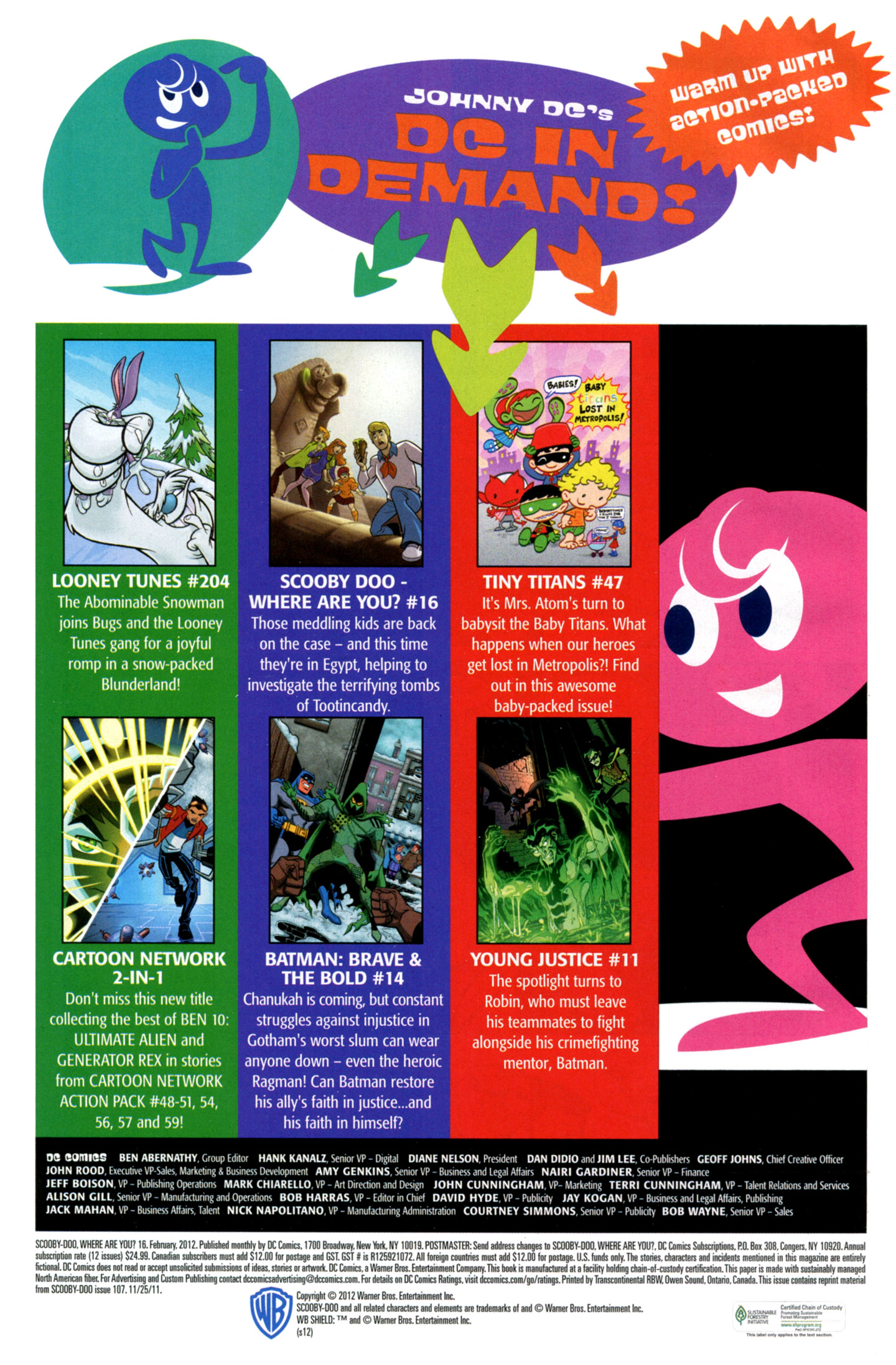 Read online Scooby-Doo: Where Are You? comic -  Issue #16 - 34