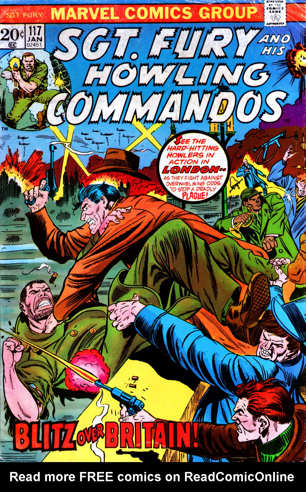 Read online Sgt. Fury comic -  Issue #117 - 1