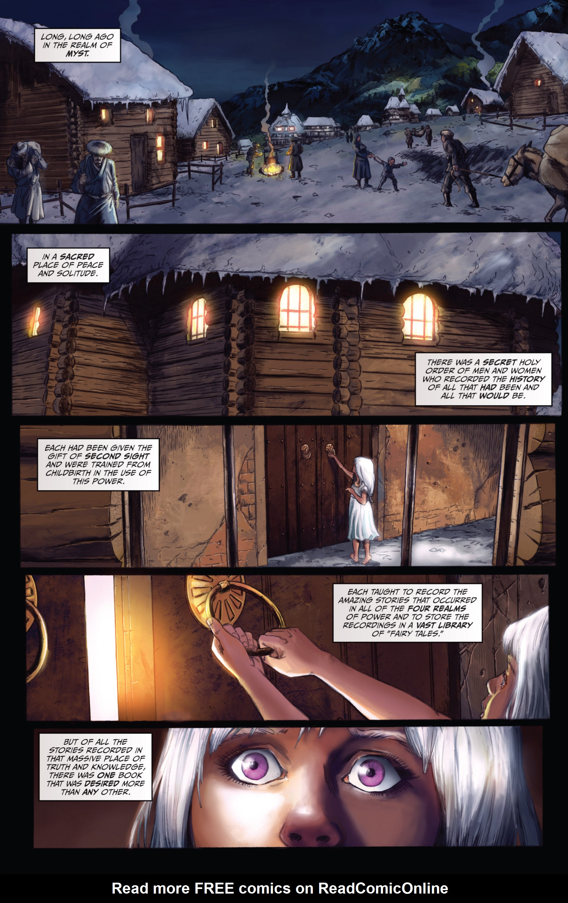 Read online Grimm Fairy Tales presents Grimm Universe comic -  Issue # TPB - 164