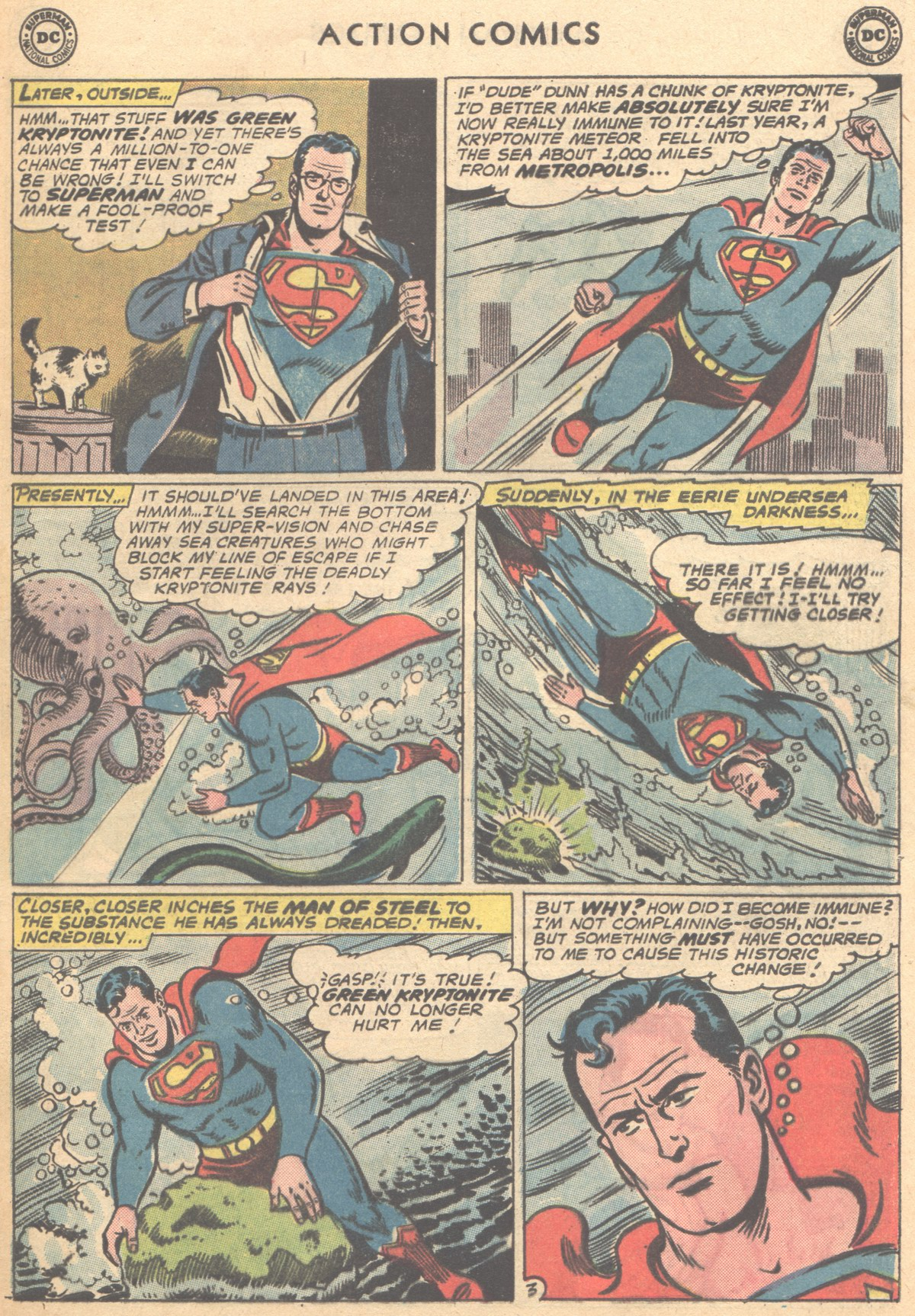 Read online Action Comics (1938) comic -  Issue #291 - 5