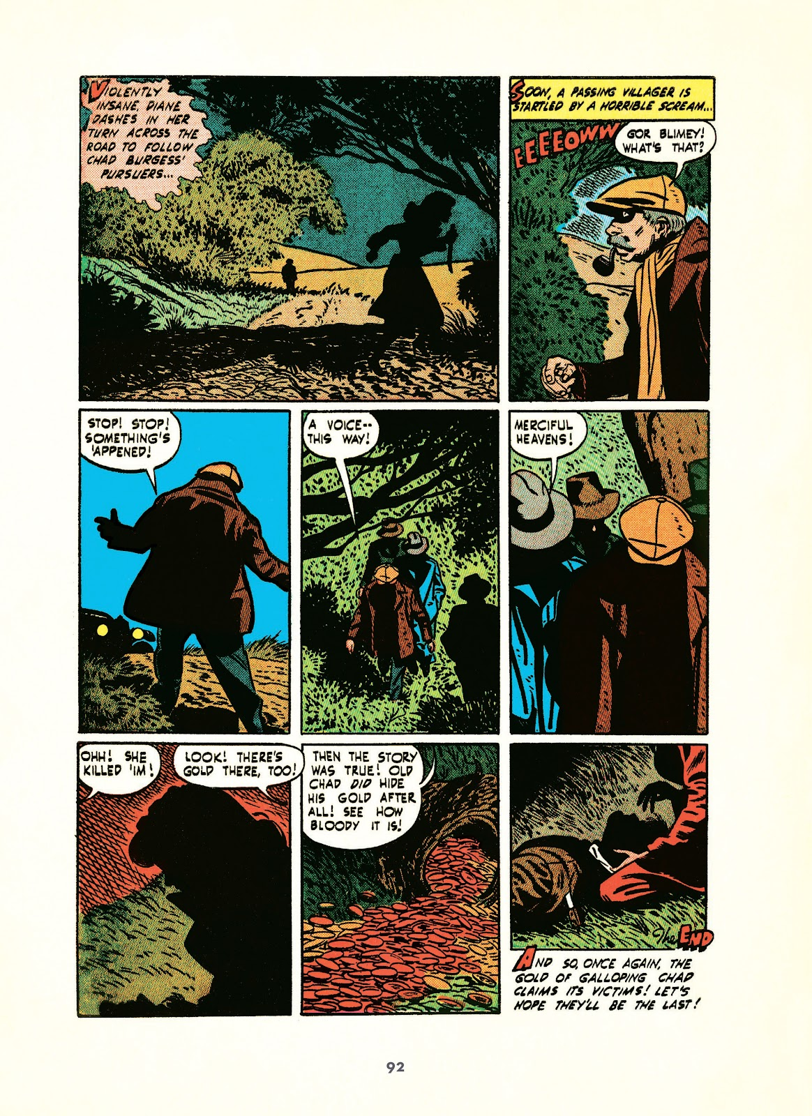Read online Setting the Standard: Comics by Alex Toth 1952-1954 comic -  Issue # TPB (Part 1) - 91