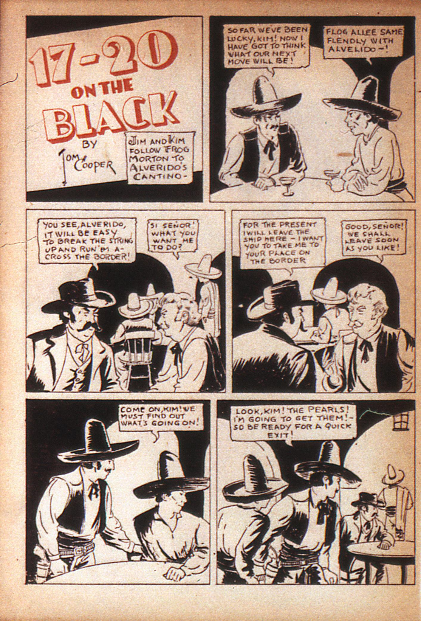 Read online Adventure Comics (1938) comic -  Issue #7 - 38