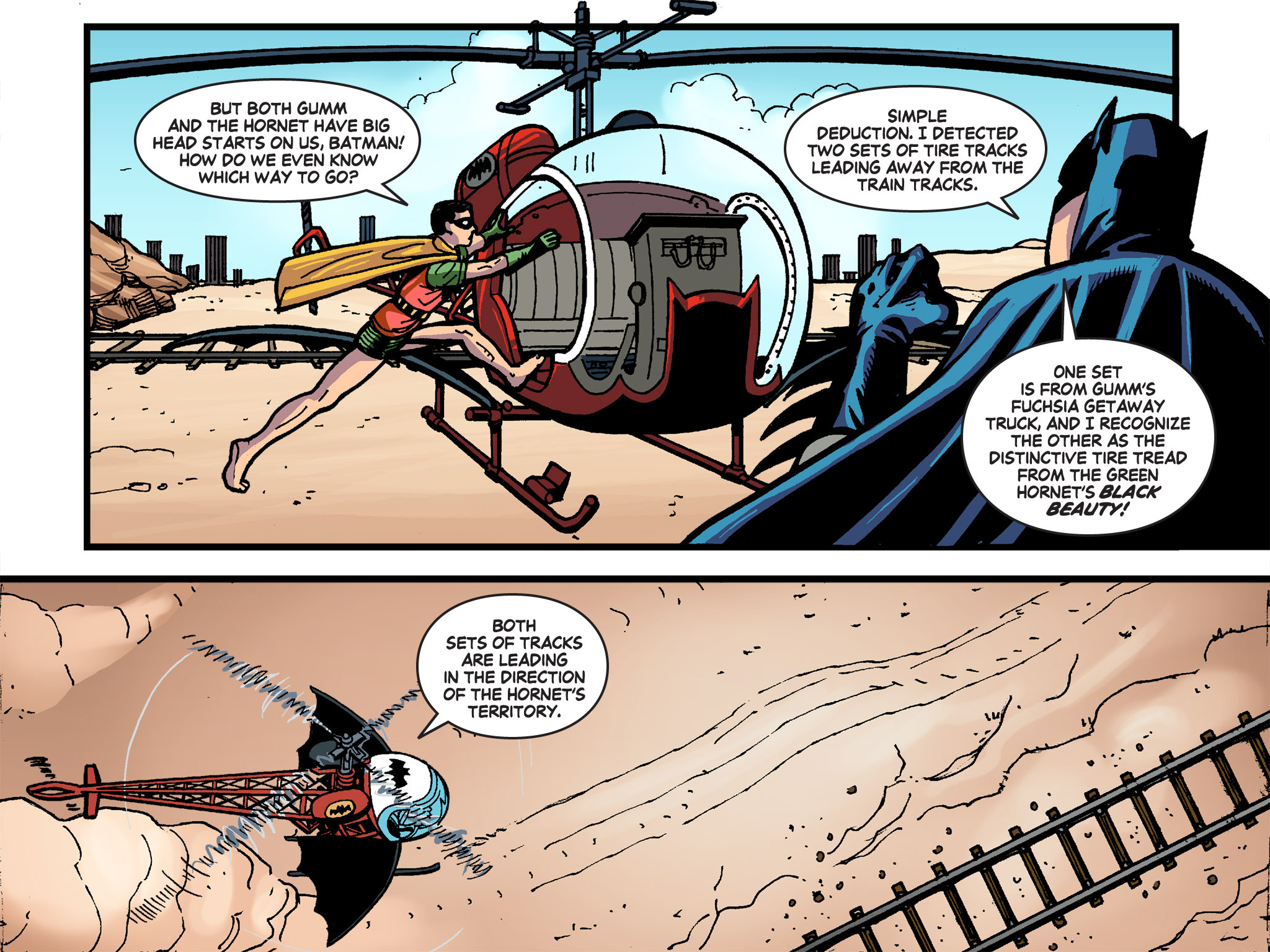 Read online Batman '66 Meets the Green Hornet [II] comic -  Issue #4 - 36