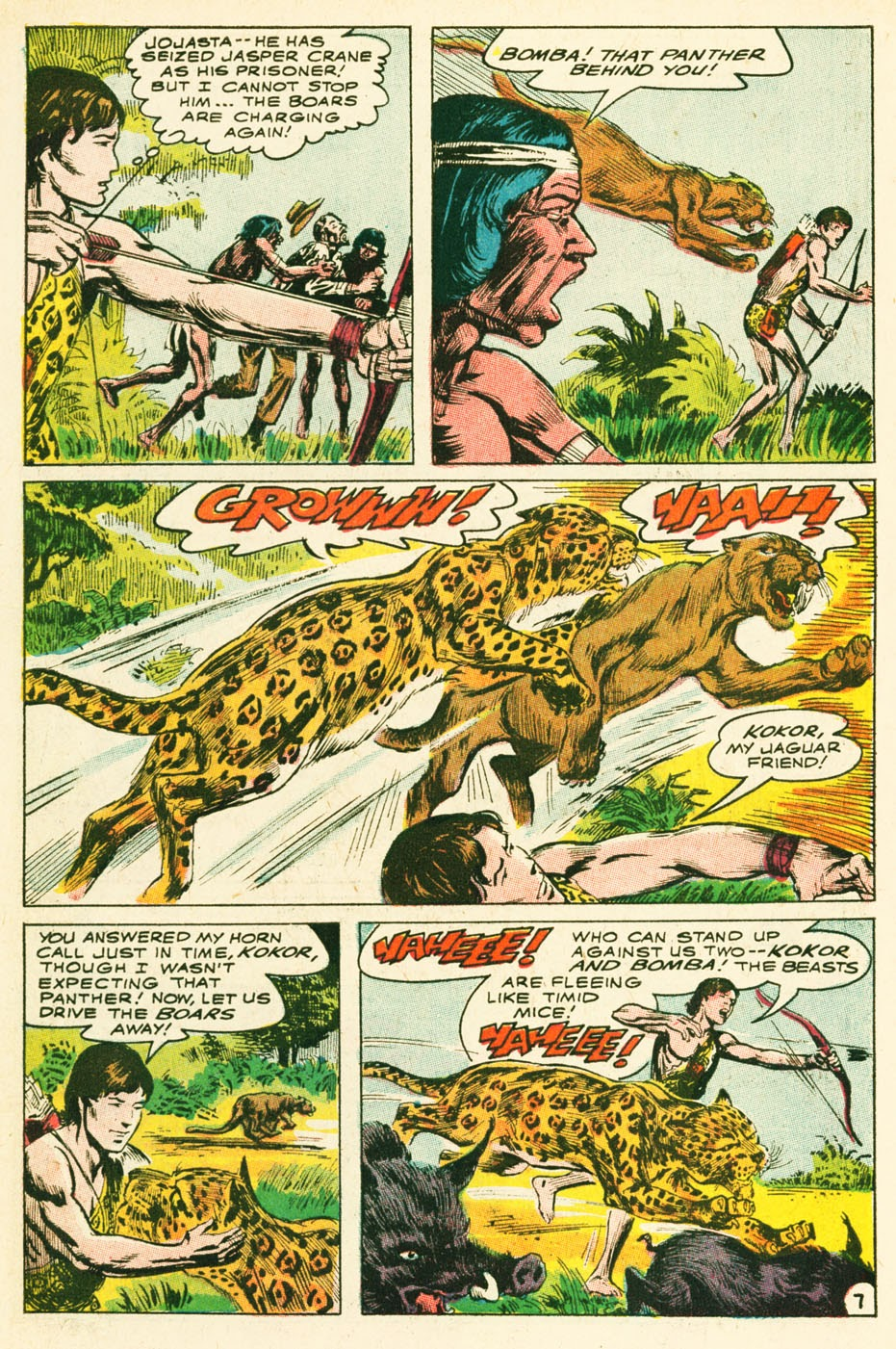 Bomba, The Jungle Boy issue 1 - Page 8