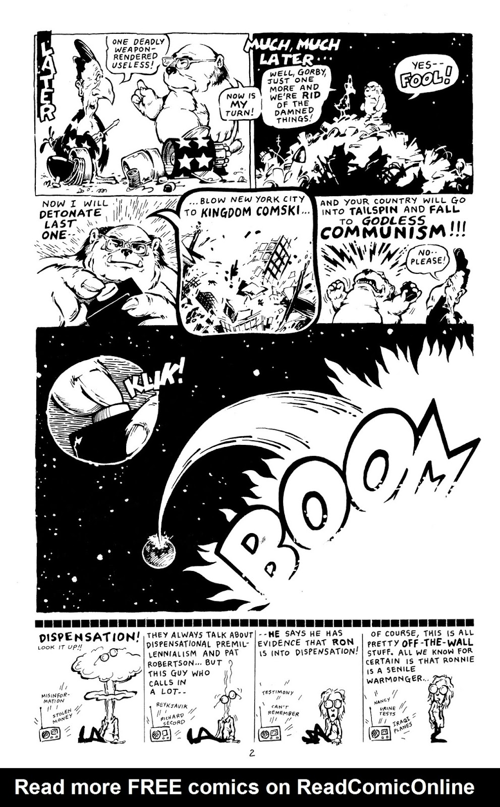 Adolescent Radioactive Black Belt Hamsters (1986) issue 8 - Page 27