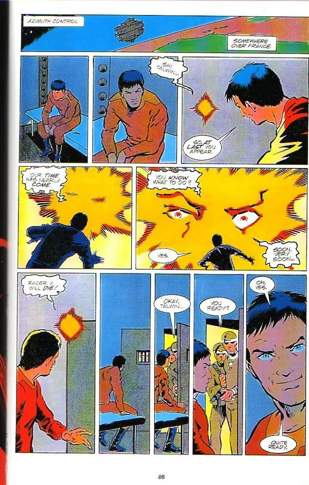 Racer X (1988) issue 3 - Page 1