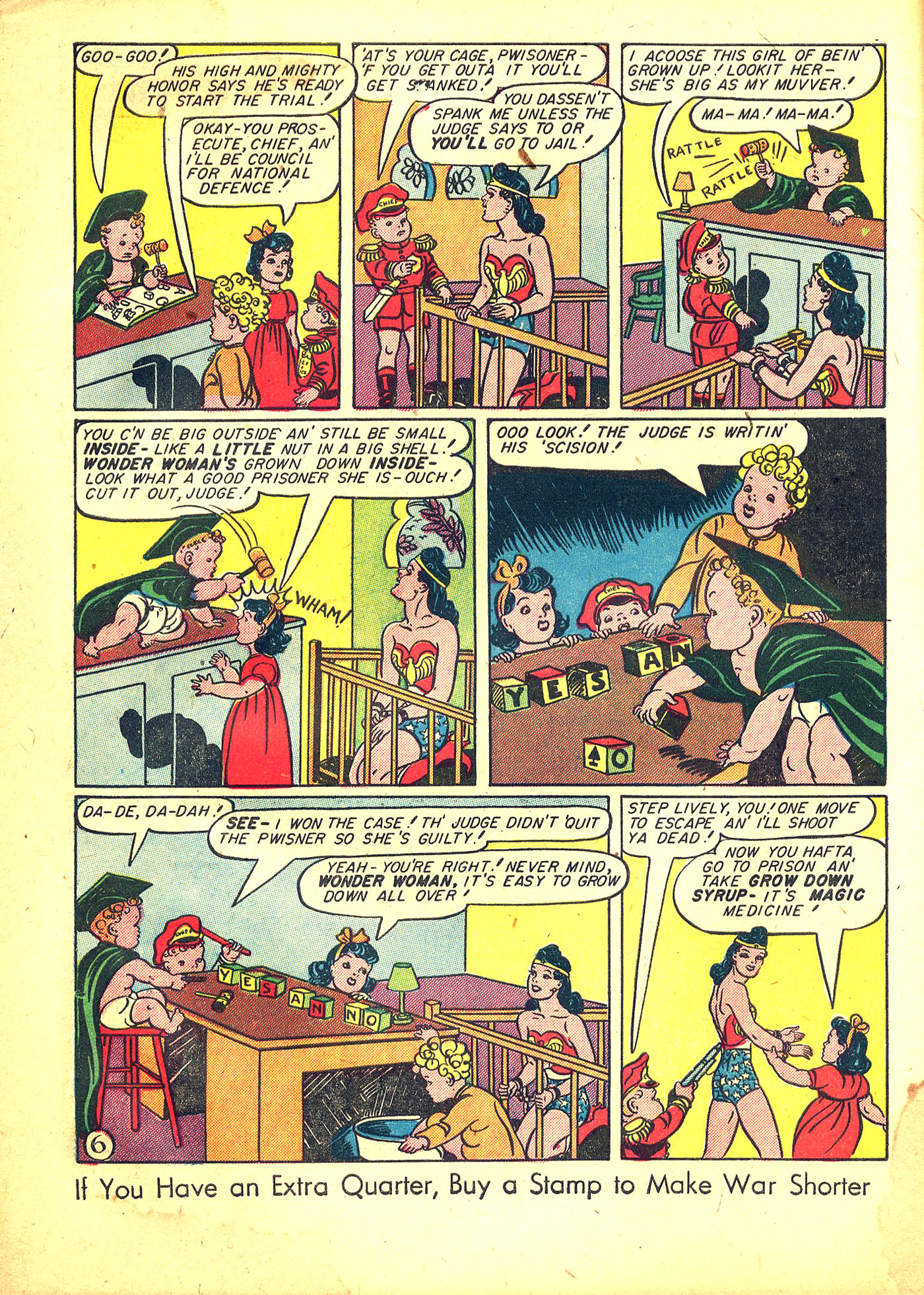 Read online Sensation (Mystery) Comics comic -  Issue #31 - 8