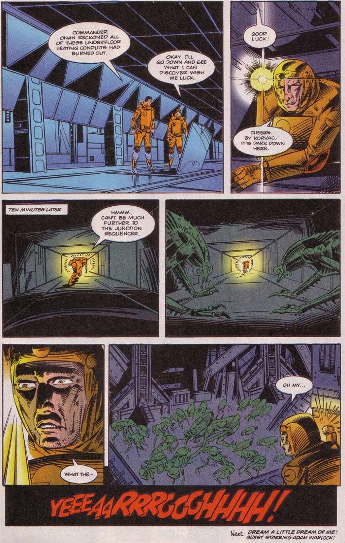 Read online Cyberspace 3000 comic -  Issue #5 - 23