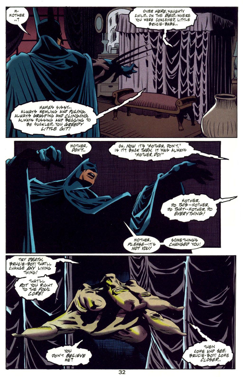 Read online Batman: Haunted Gotham comic -  Issue #4 - 32