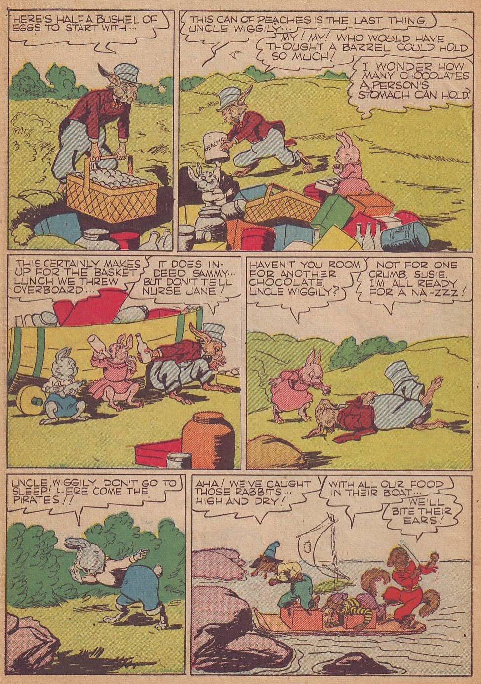 Read online Animal Comics comic -  Issue #8 - 12