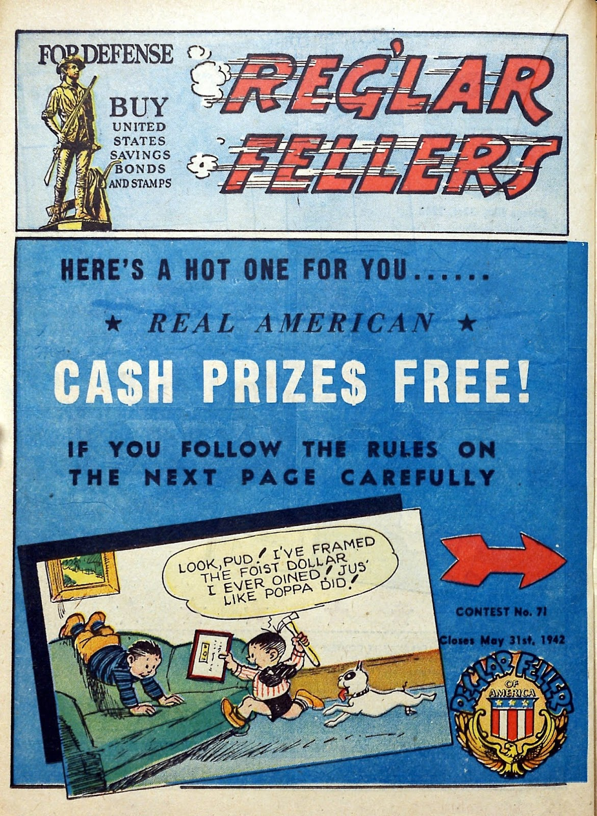 Reglar Fellers Heroic Comics issue 12 - Page 38