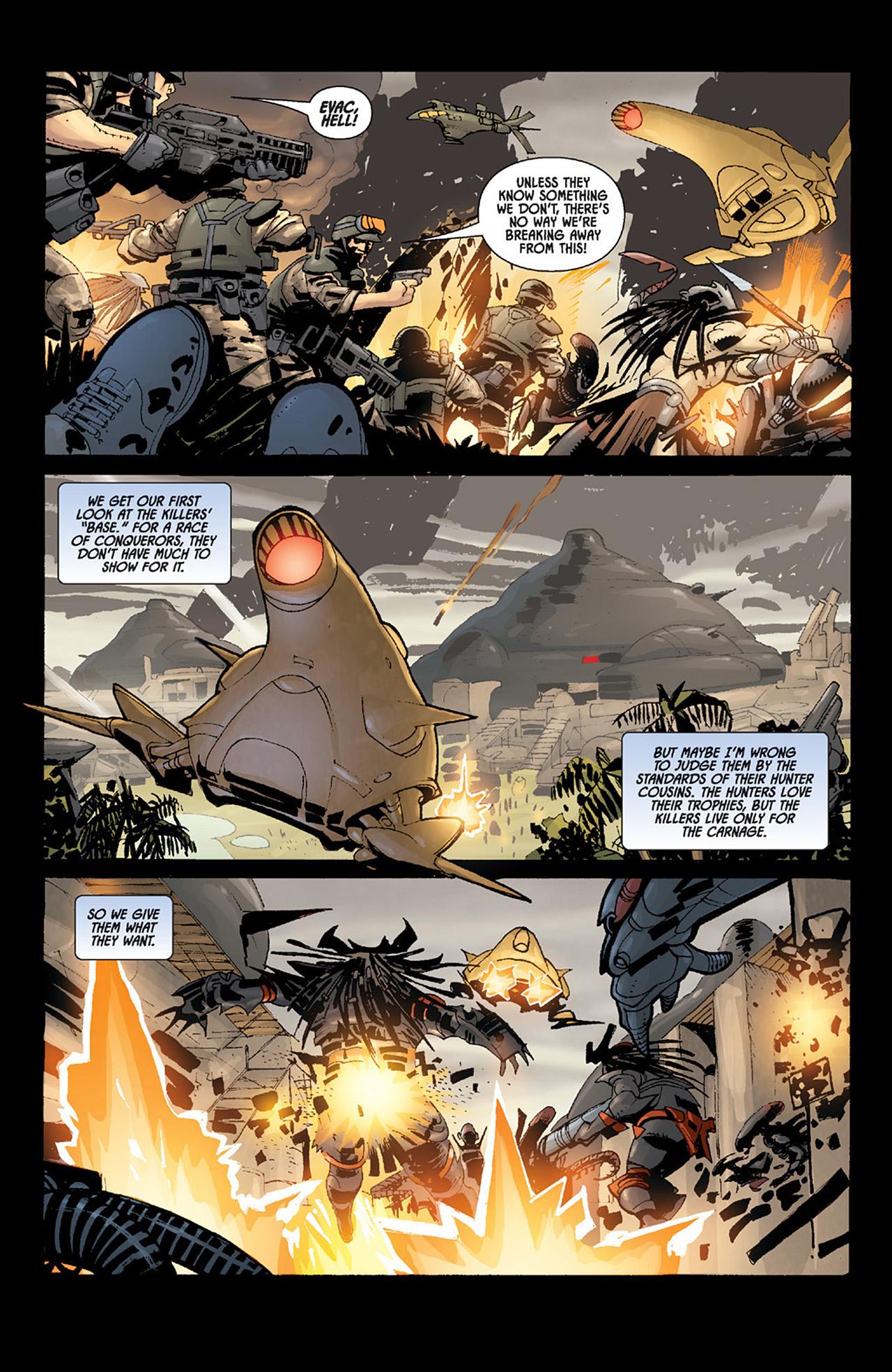 Read online Aliens vs. Predator: Three World War comic -  Issue #6 - 10