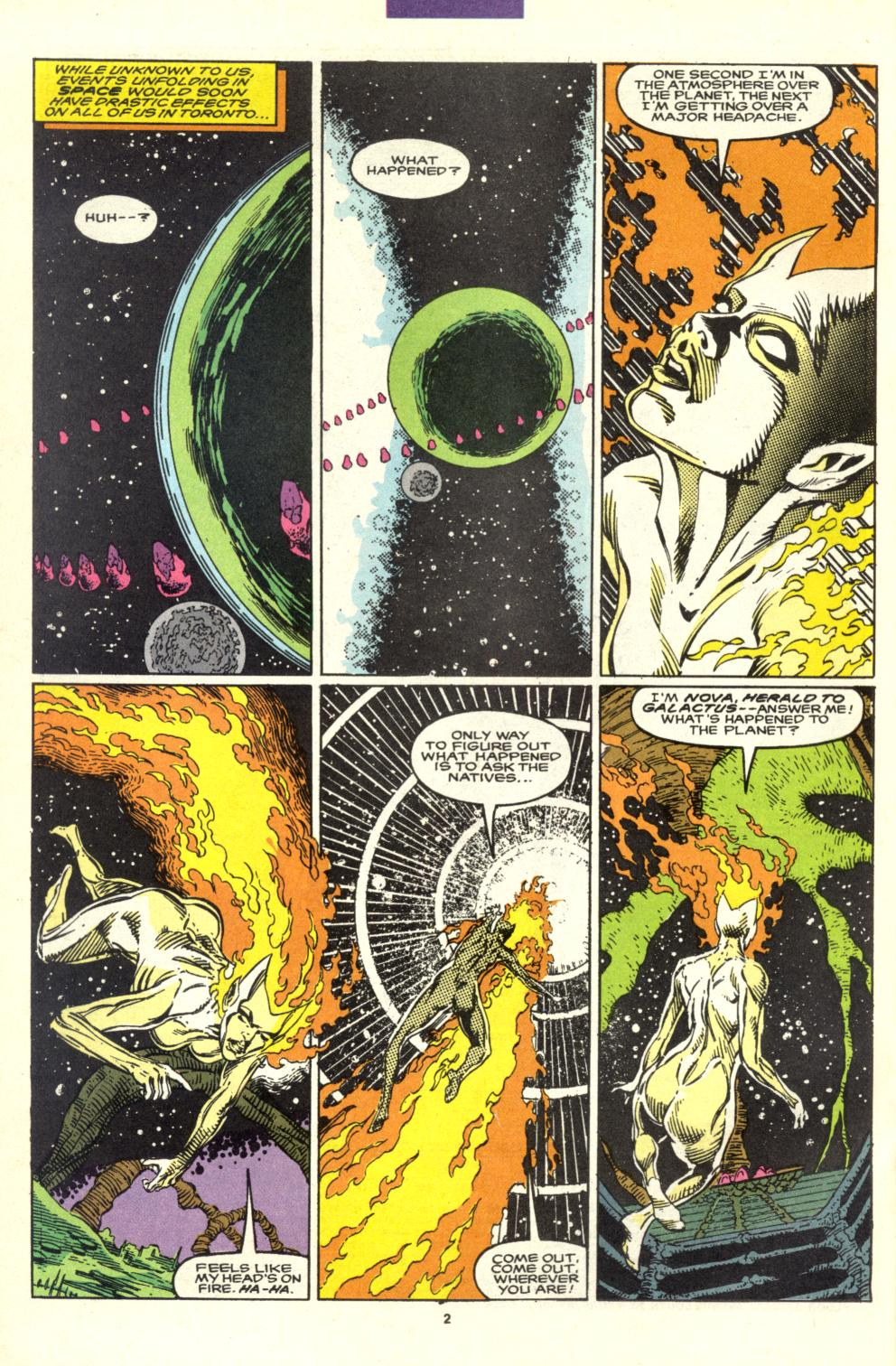Read online Alpha Flight (1983) comic -  Issue #99 - 3
