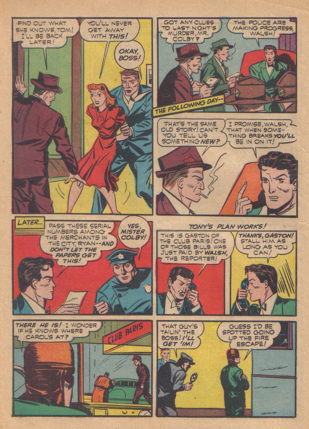 Exciting Comics (1940) issue 13 - Page 40