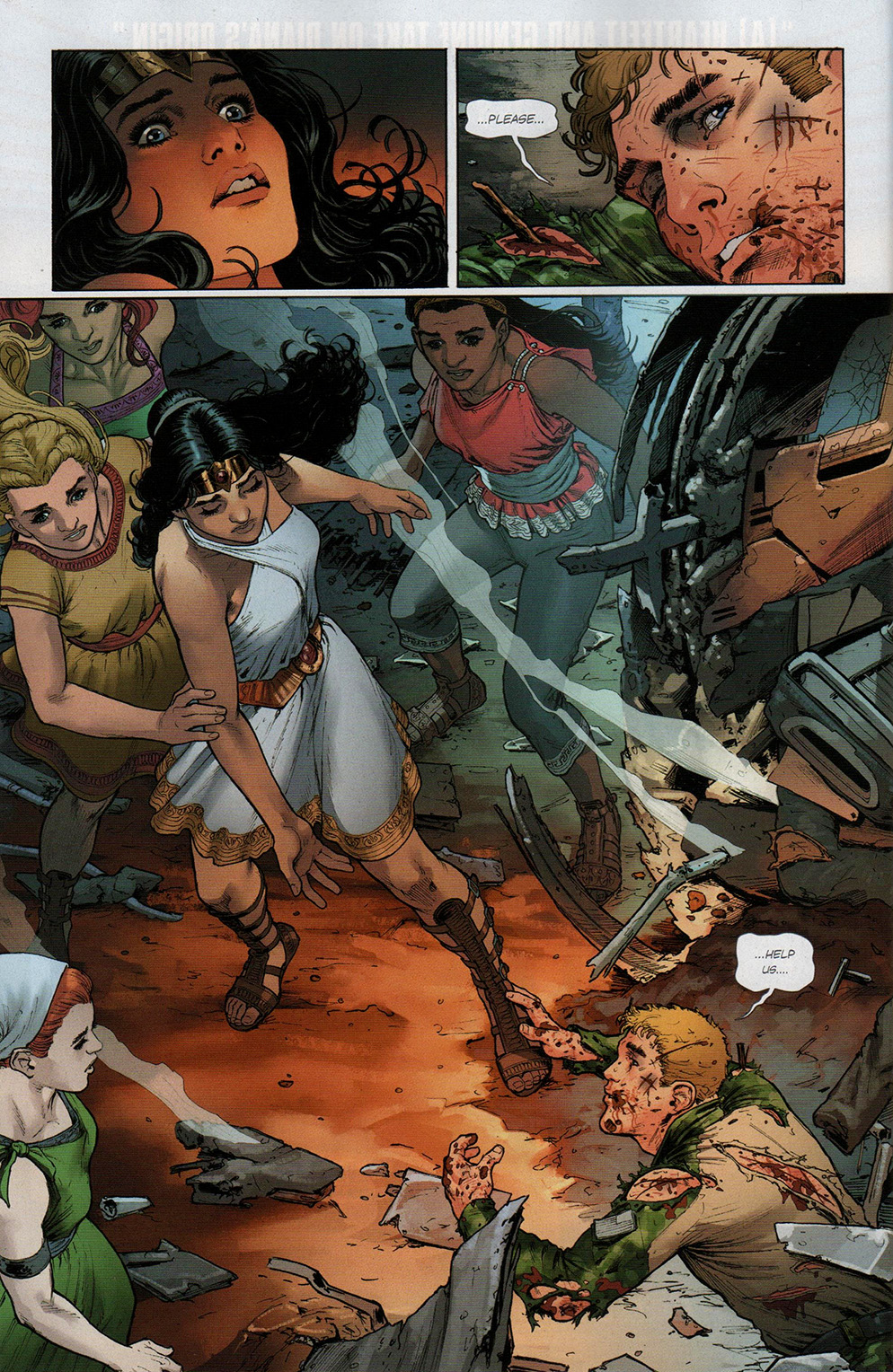 Read online Free Comic Book Day 2017 comic -  Issue # Wonder Woman 1 - 19