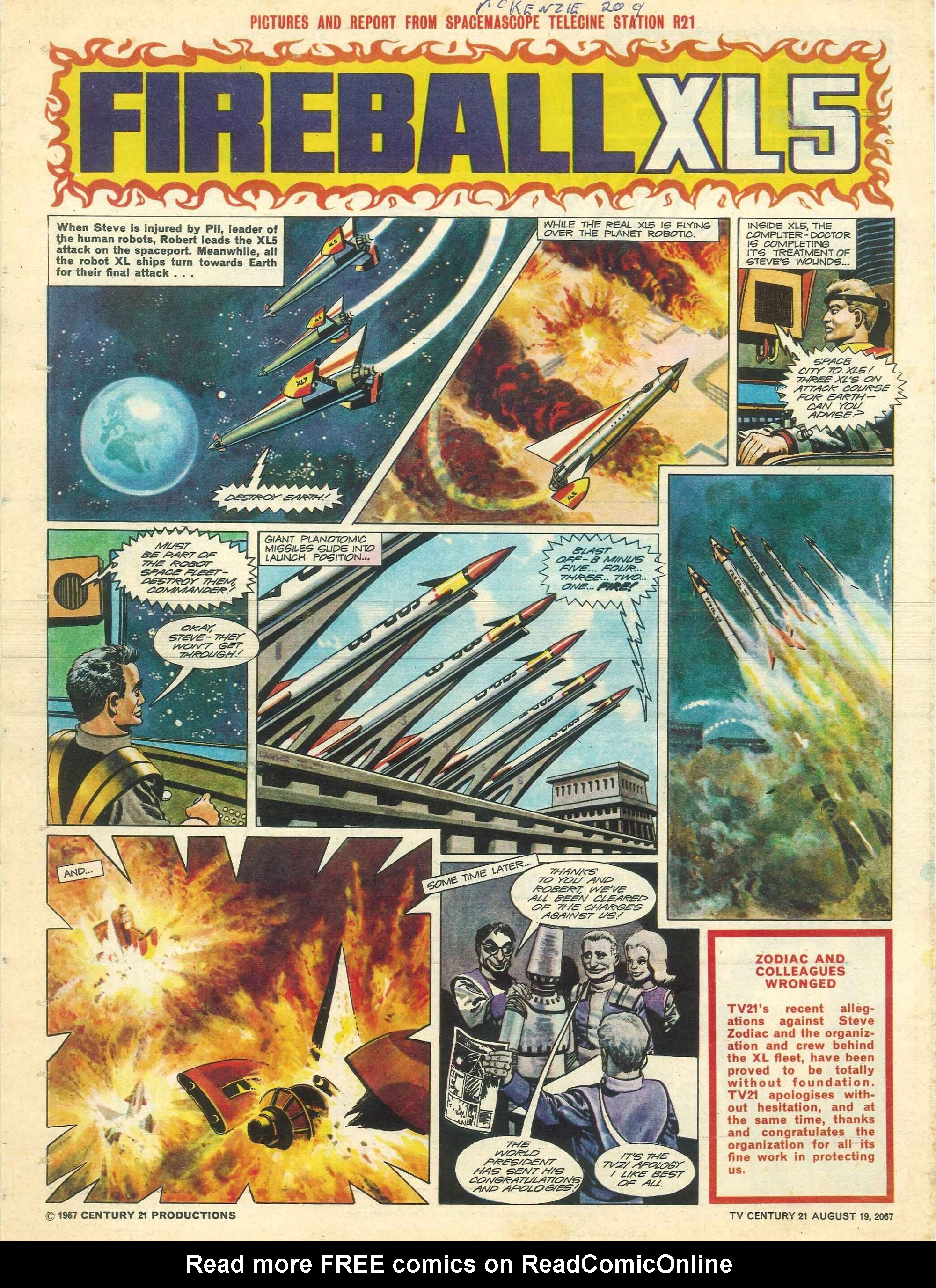 Read online TV Century 21 (TV 21) comic -  Issue #135 - 19