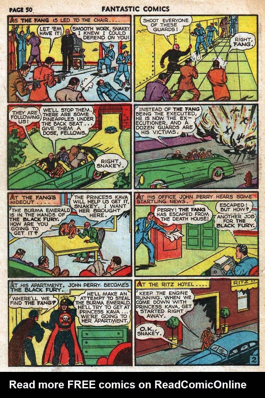 Read online Fantastic Comics comic -  Issue #18 - 52
