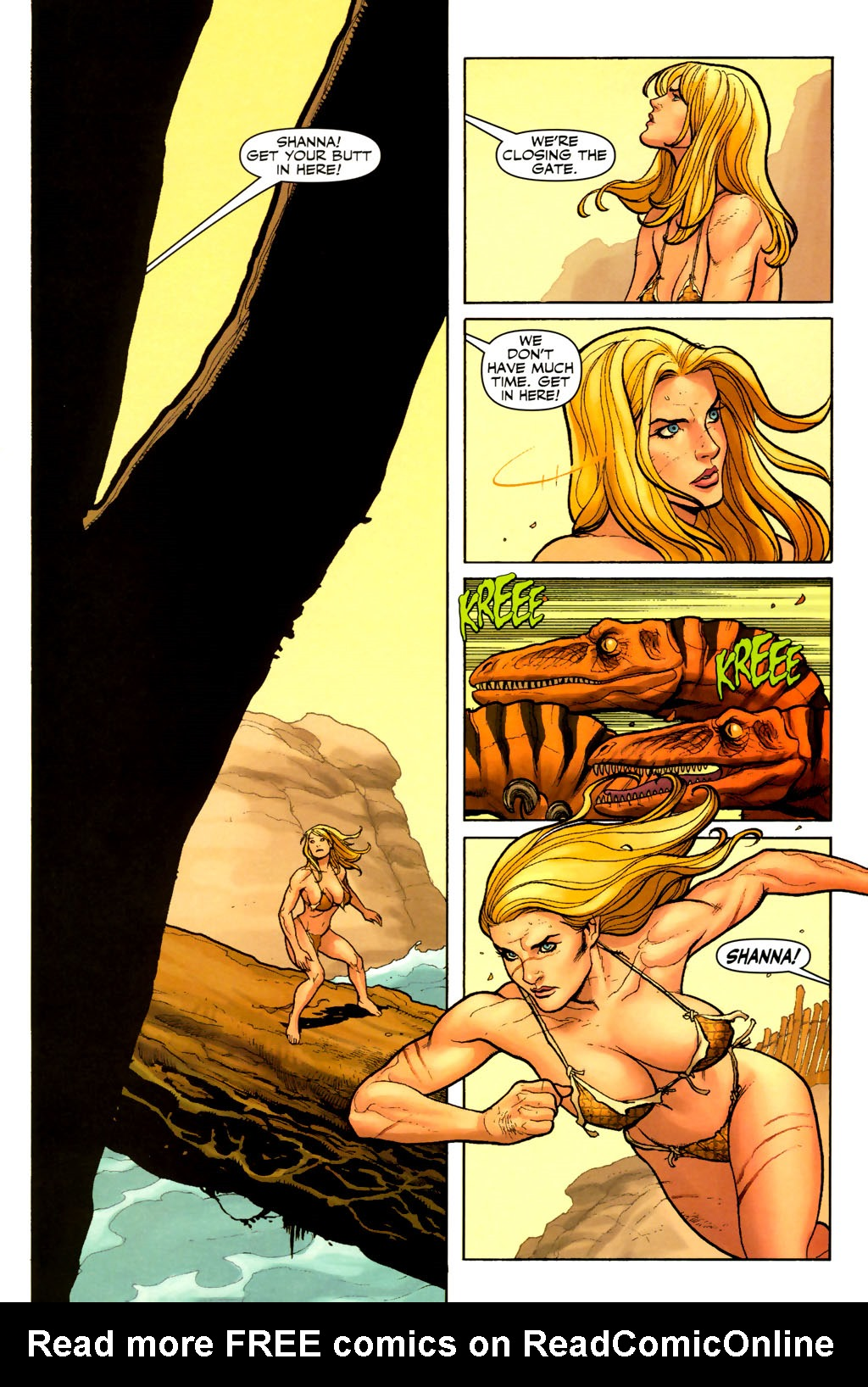 Read online Shanna, the She-Devil (2005) comic -  Issue #7 - 9