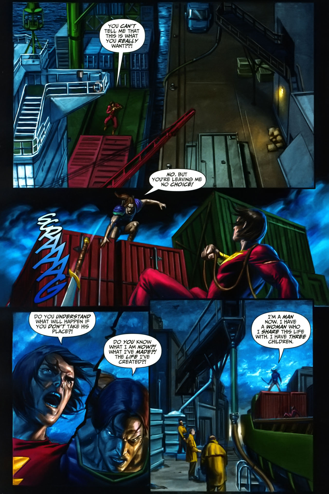 Read online Trials of Shazam comic -  Issue #9 - 10