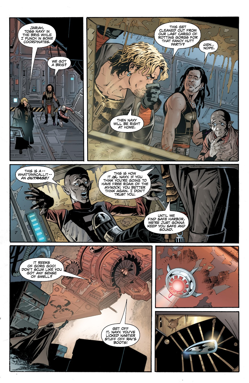 Read online Star Wars Legends: Legacy - Epic Collection comic -  Issue # TPB 2 (Part 2) - 14
