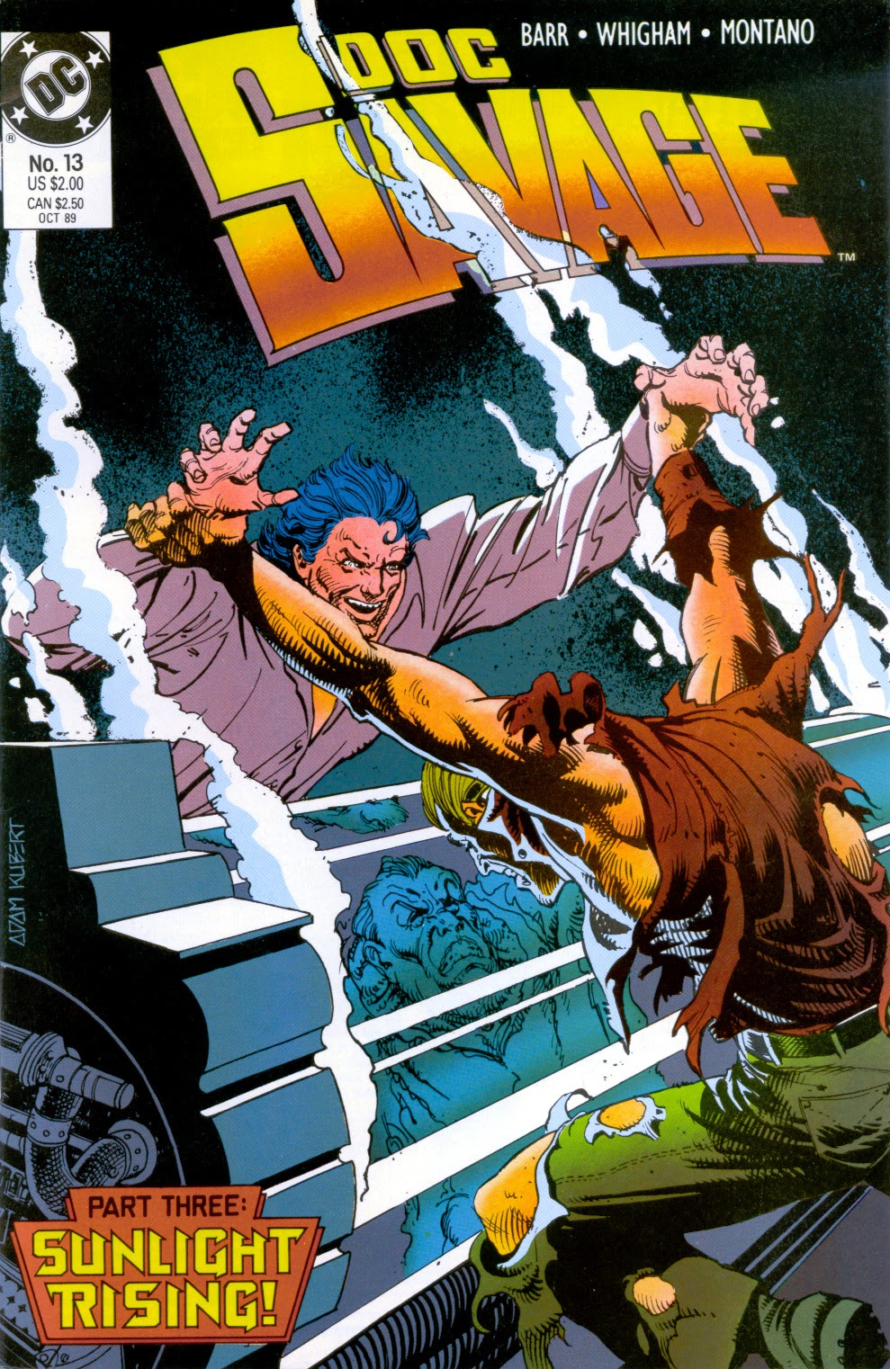 Doc Savage (1988) issue 13 - Page 1