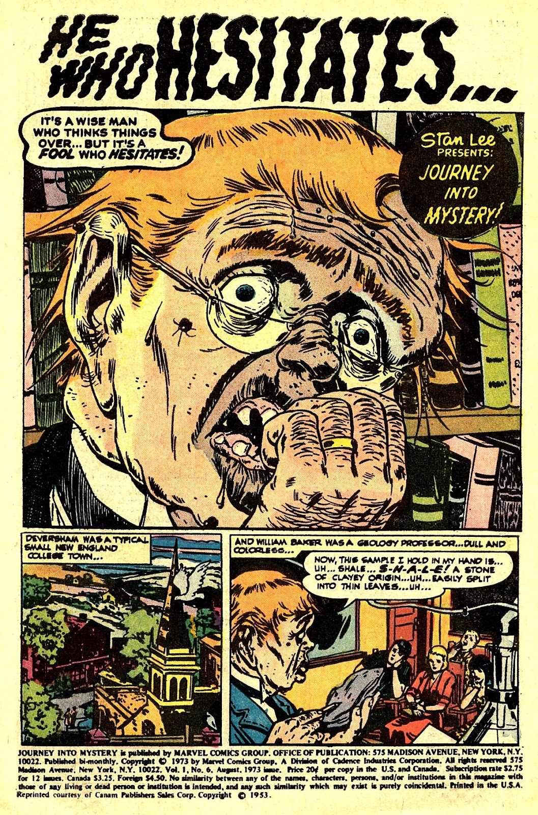 Journey Into Mystery (1972) issue 6 - Page 3