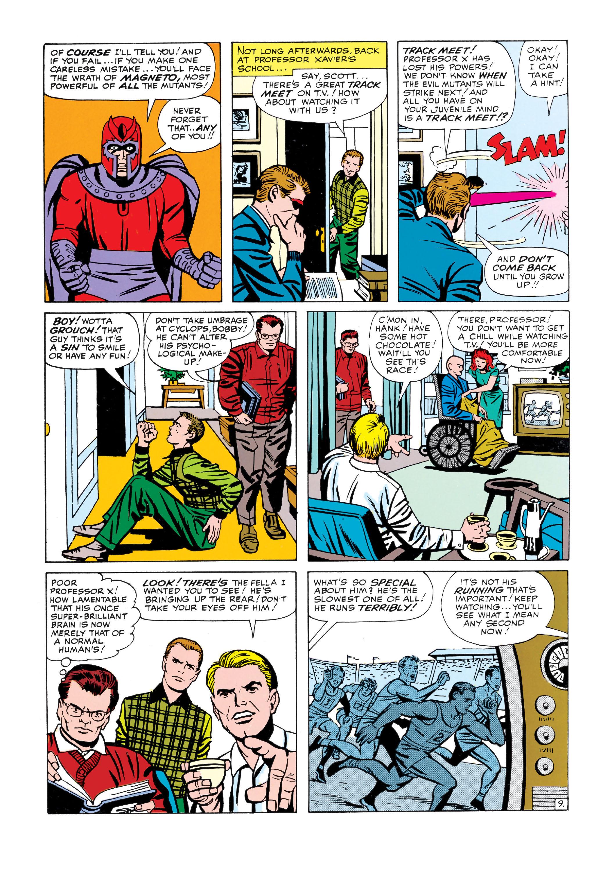 Read online Uncanny X-Men (1963) comic -  Issue #5 - 10